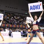 ビーコルが三河戦GAME1で「AOKI SPECIAL GAME DAY」を開催!