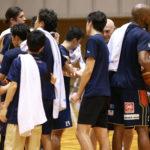 平塚で猛練習を披露したビーコルが、川俣町でのプレシーズンゲームで初実戦!
