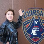 元宝塚歌劇団トップスター古城 都さんが横浜ビー・コルセアーズの本拠地で「美と健康プログラム」を開校中!