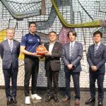 ビーコルが、横浜市・小林一美副市長を表敬訪問。