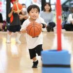 横浜ビー・コルセアーズバスケットボールアカデミーが幼児を対象にしたバスケスクールを開催中!