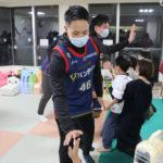 ビーコルが、横浜労災病院小児病棟を訪問