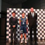 横浜ビー・コルセアーズが、東海大・河村勇輝の入団会見を実施